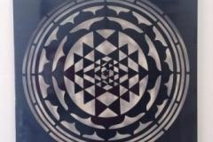 Geometric Laser Wall Art